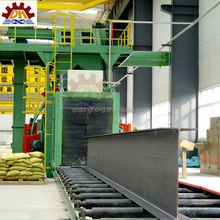high efficient Factory direct sale steel plate preservation line shot blasting machinery