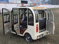Good Price Three Wheel Motorcycle Electric Passenger Tuc Tuc With Cabin
