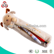 Customized Soft Plush Stuffed Pen Bag,Plush Pencil Bag