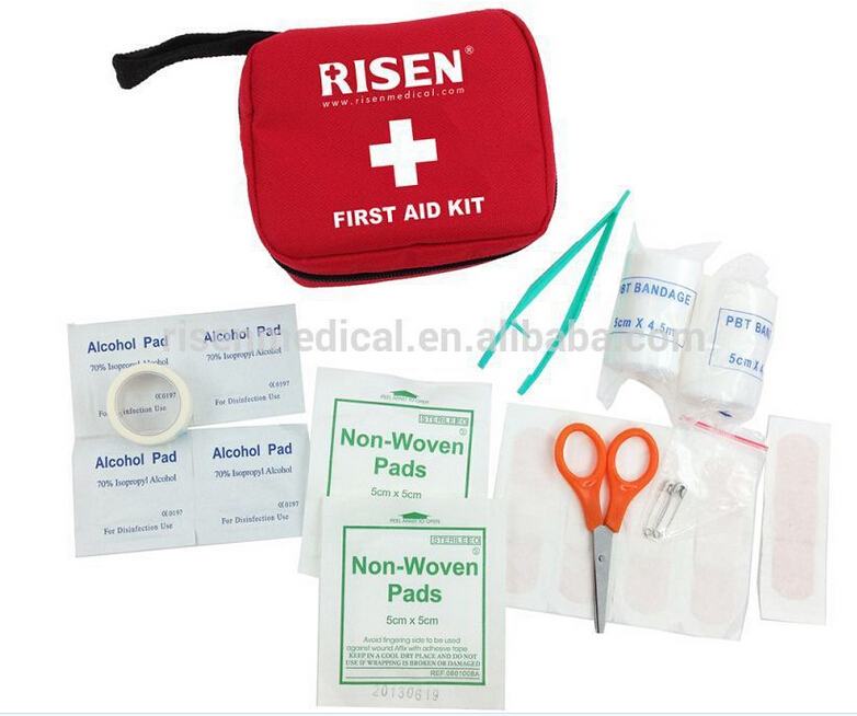 Emergency mini first aid kit camping/climbing/hiking/biking