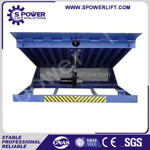 Cheap price goods loading unloading container used hydraulic dock ramp lift