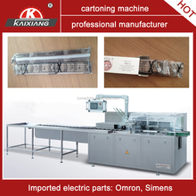 carton packaging machine for incense stick box packing solution