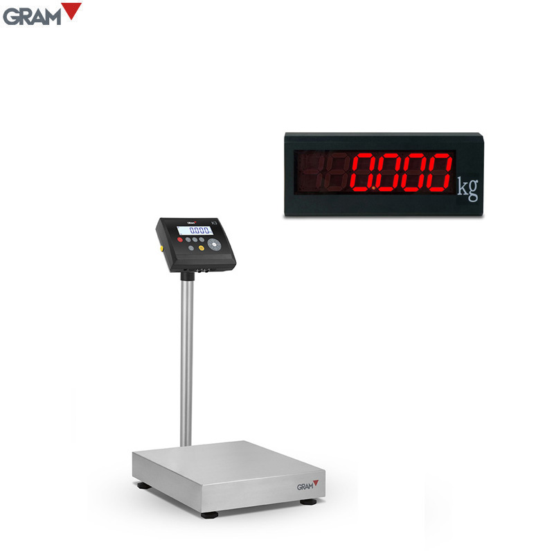 GRAM computer weighing scale Sends data to PC applications without additional software Weight Scale
