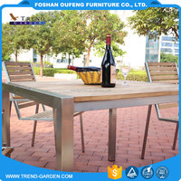 Factory made italian style luxury royal expandable 8 seater solid wood extendable modern dining table