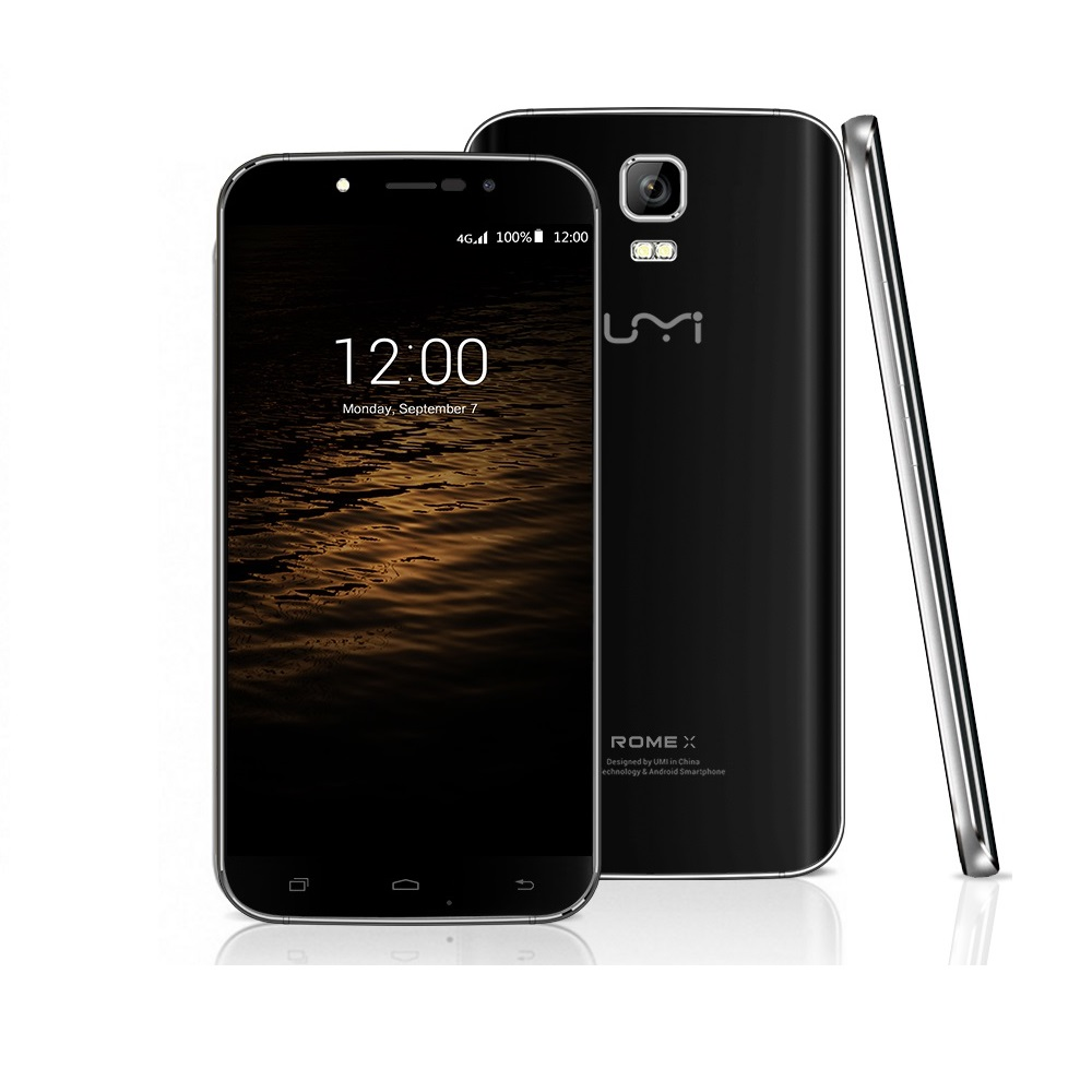 "UMI Rome X 5.5"" touch screen MT6580 Quad Core 1G RAM 8G ROM 13.0MP 3G smart <strong>phone</strong>"