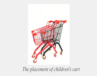 Children's toys baby stroller toys supermarket shopping cart toy baby trolley