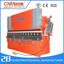 China manufacturer machine for bending iron,hydraulic carbon steel press brake WC67k-250T3200