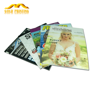 Wholesale custom professional cheap magazine printing and photo book printing