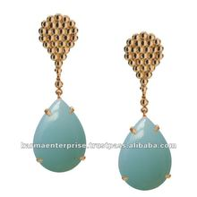 single stone earring designs