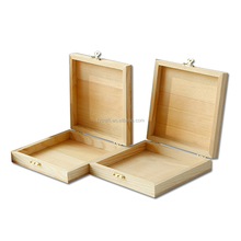 wholesale cheap unfinished wooden box