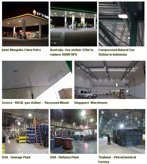 115lm/w 30W 100W 180W LED Explosion-proof Light UL844 DLC CUL listed hazardous area lighting