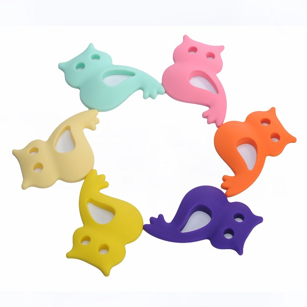 Soft Toy Style and silicone,Silicone Material BPA Free silicone baby teether