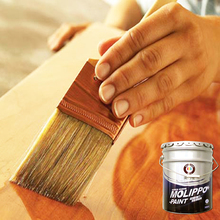 Environmental freshly child safe wood paint