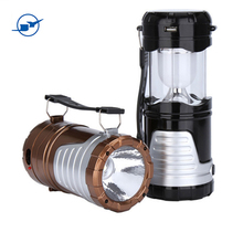 Solar LED Camping Light Rechargeable Led Light Outdoor USB Output for Phone, Portable Lamps and Lanterns in Outdoor Lighting