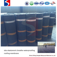 sbs elastomeric breathe waterproof roofing membrane