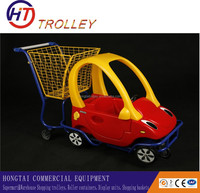 high quality baby toy shopping cart on wheels with seat factory direct sale