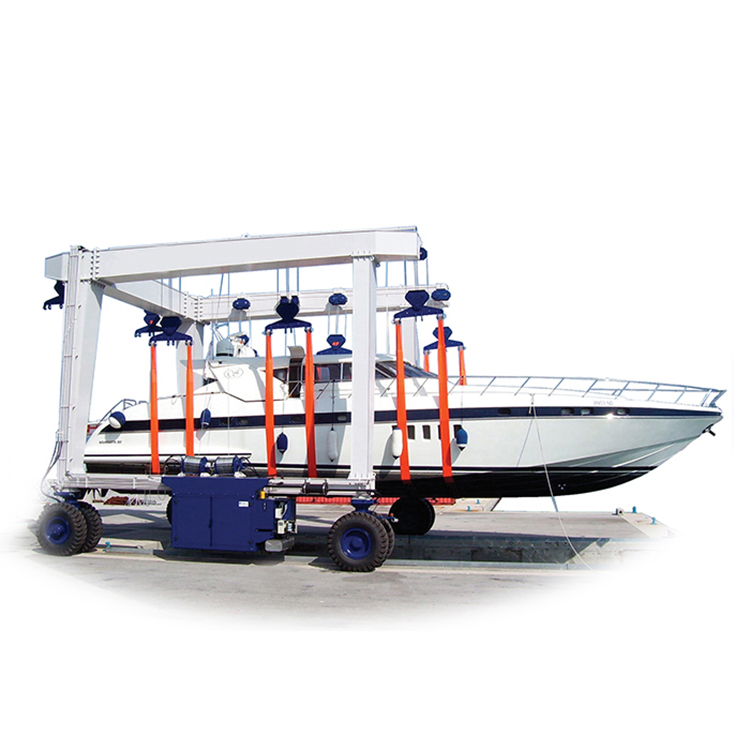 Nucleon 300 ton mobile boat lifting hoist
