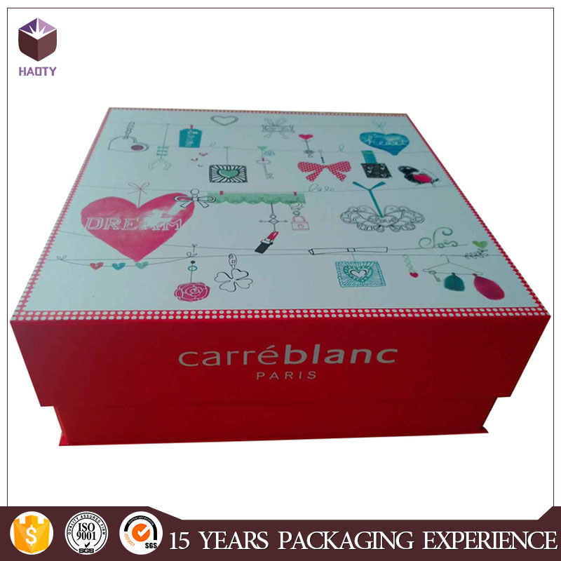 Luxury safety square toy gift box
