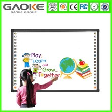Factory cheap smart board price with the newest design interactive whiteboard for classroom