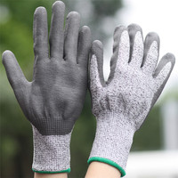 Safety Protective Agriculture Anti Cut Gloves Level 3
