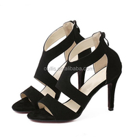 lower heel shoes women office shoes canton fair shoes PF4244