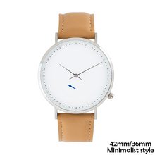 Vdear OEM minimal chrono japan movt stainless steel back sr626sw ultra thin wrist watches men women