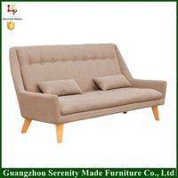 2016 Latest Modern Furniture Design leather sofa With Metal bases