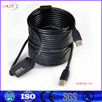 USB A male to a male extension cable /usb 2.0 extension cable /extension cable