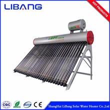Best selling vacuum tube portable hot water solar water heater