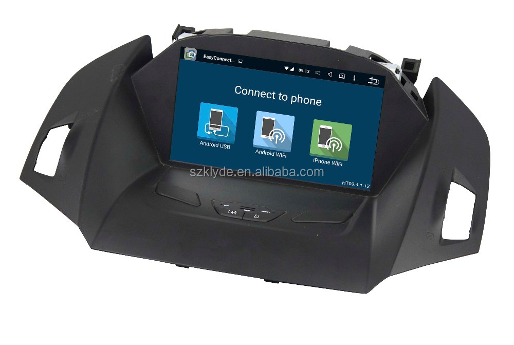 "Klyde the newest 5.1 system quad core 8"" Separate car entertainment system with GPS/IPOD/BT/Radio/AUX IN/DVR"