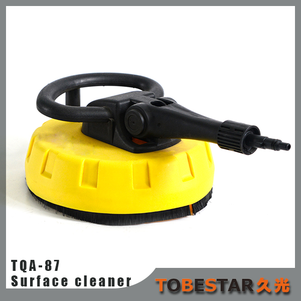 TQA-87 electric high pressure washer connecting powerful floor cleanig tools surface cleaner