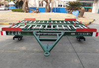 7 tons 10 feet Pallet trailer dolly for aviation equipment GSE