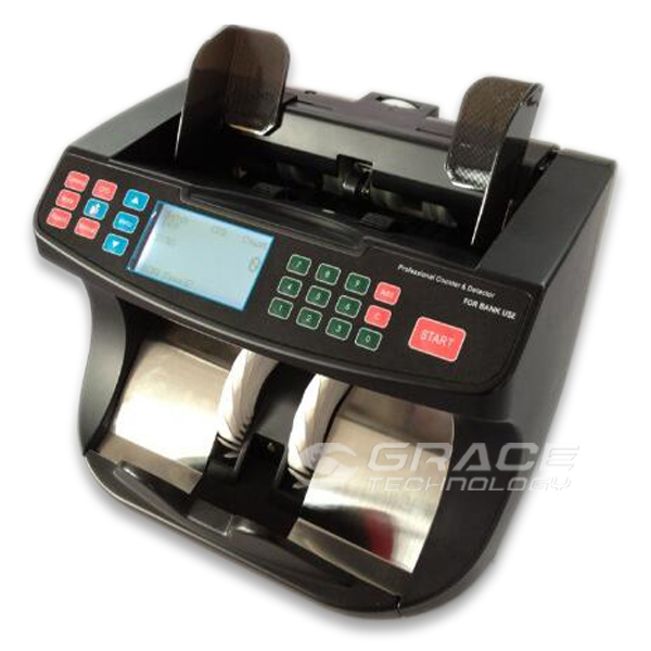 Multi Euro value counting and detecting machine