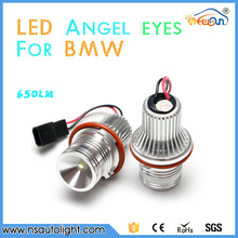 Car accessories LED Angel eyes E39 LED Marker Angel eyes LED ring light E53 E65 E87 E39 led angel eyes for BMW