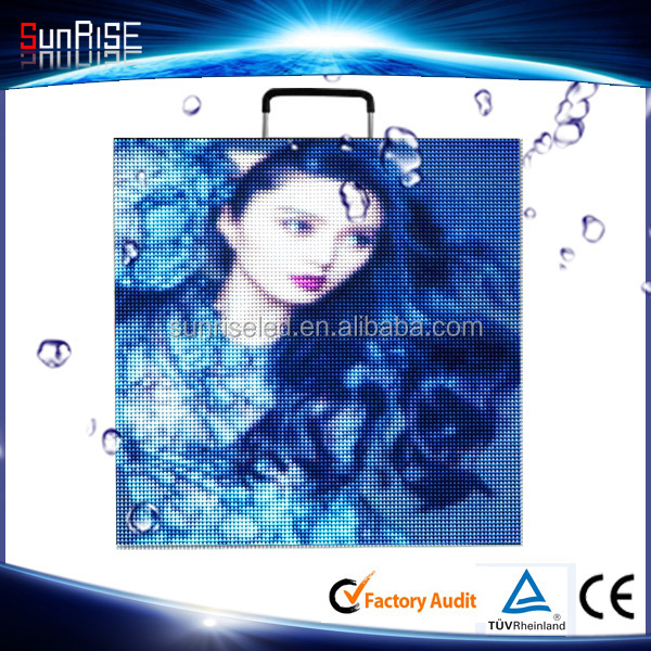 Hot Clips Video LED Display Screen Panel Outdoor P4.81