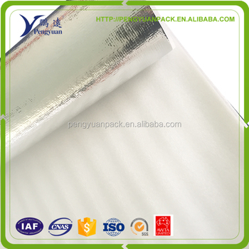 Alu foil/EPE foam soft come in roll Cooler bag material