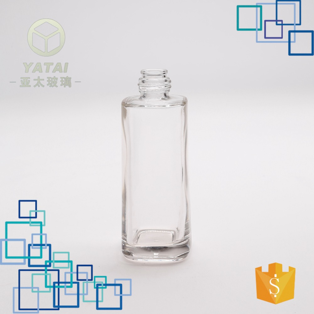 95ml empty wholesale pretty glass jars for perfume with high quality