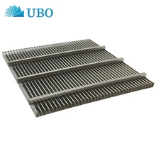 V wire stainless steel sieve plate flat wedge wire screen