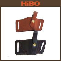 Compact Leather Belt Gun Holster