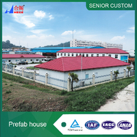Fast assembly durable prefab houses kit set houses