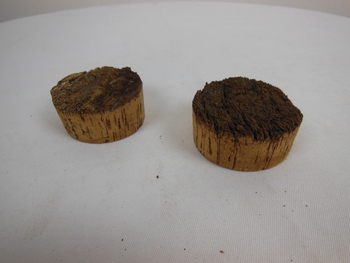 Rough Natural Top Cork Stopper