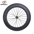 Cheap Wheels for Training ! Dengfu 88mm Profile Carbon Tubular Road Bike Wheels with Novatec Hubs and CN494 Spokes