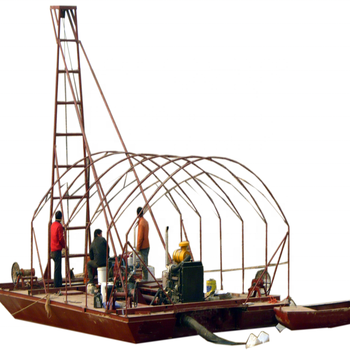 mini boat small barges for sale sand carrier ship	mini dredge for sale river sand