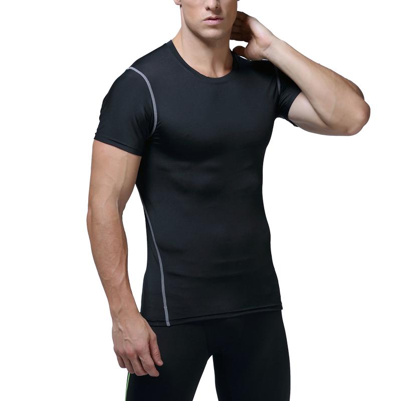 e5186fc4ab7 Sublimation aucune étiquette corps qualité fitness porter brésil collants  de compression hommes sport en gros vêtements