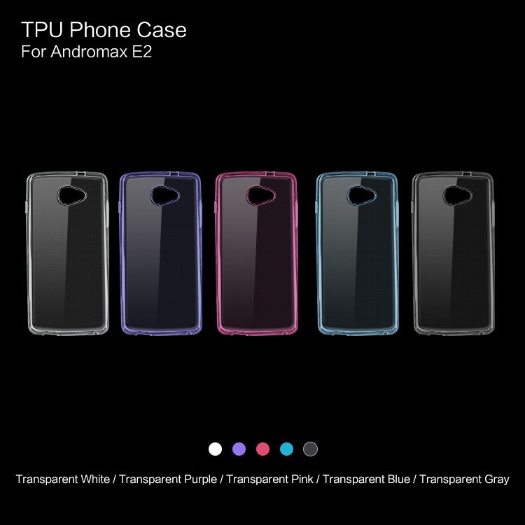 Wholesale Transparent Soft Factory price TPU Mobile Phone Case For Hisense Andromax E2