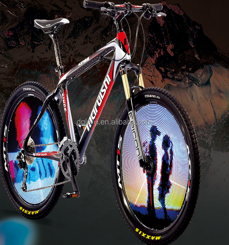 Colorful Motion Activated LED Bike Bicycle Wheel Light