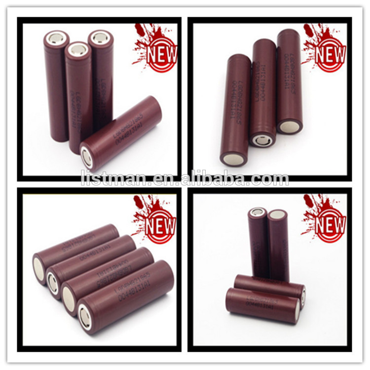18650 battery hot china distributors manufacturer new lg hg2 3000mah lg rechargeble lithium ion hg2 vape battery