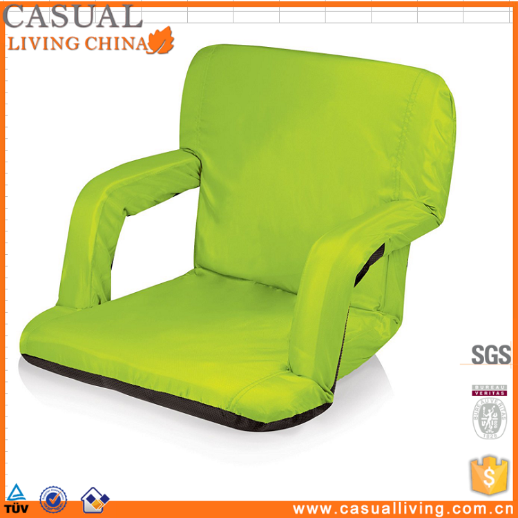 Stadium Seat Chair for Bleachers or Benches Enjoy Padded Cushion Backs and Armrest Support