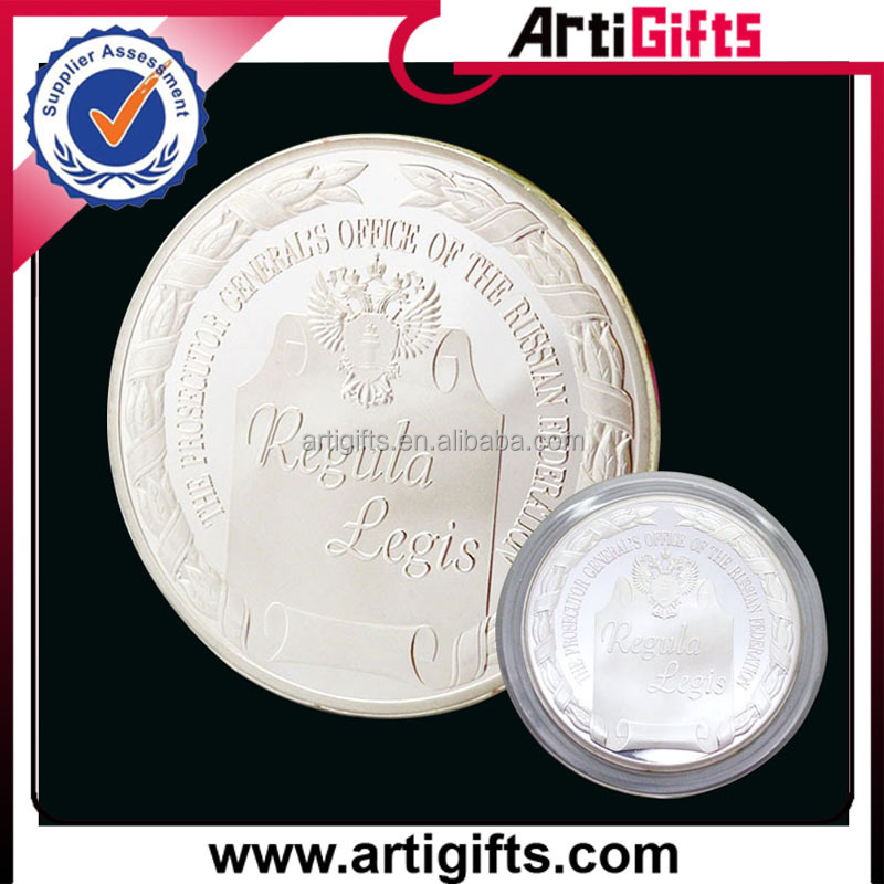 Factory supply metal silver eagle coins