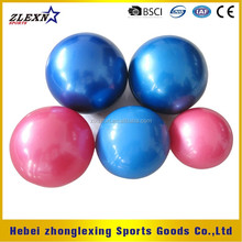 15cm inflatable PVC sand filled hand weight ball